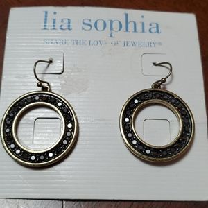 🦕3/$10 Retro Glam Lia Sophia Earrings